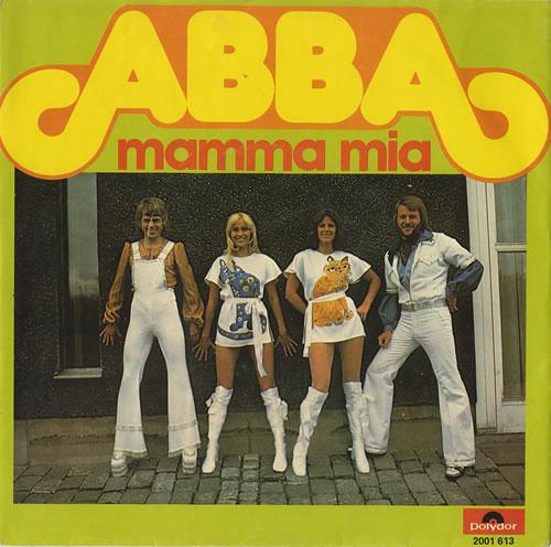 """Abba Mamma Mia 7"""" vinyl single (7 inch record) Dutch ABB07MA157395"""