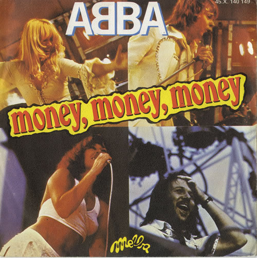 "Abba Money, Money, Money - EX 7"" vinyl single (7 inch record) French ABB07MO564220"