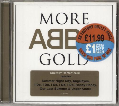 Abba More Abba Gold - More Abba Hits CD album (CDLP) German ABBCDMO573987