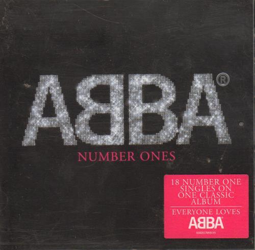 Abba Number Ones CD album (CDLP) German ABBCDNU652213