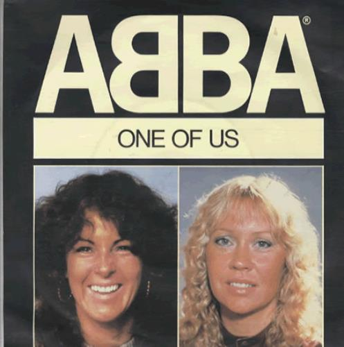 """Abba One Of Us - Injection 7"""" vinyl single (7 inch record) UK ABB07ON02106"""
