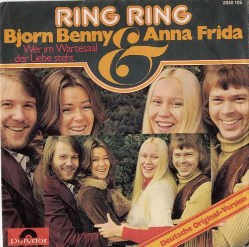 Abba Ring Ring German Language Version German 7 Quot Vinyl