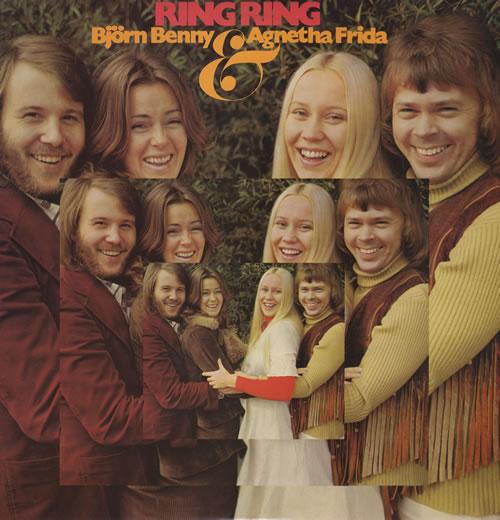Abba Ring Ring vinyl LP album (LP record) Swedish ABBLPRI09130
