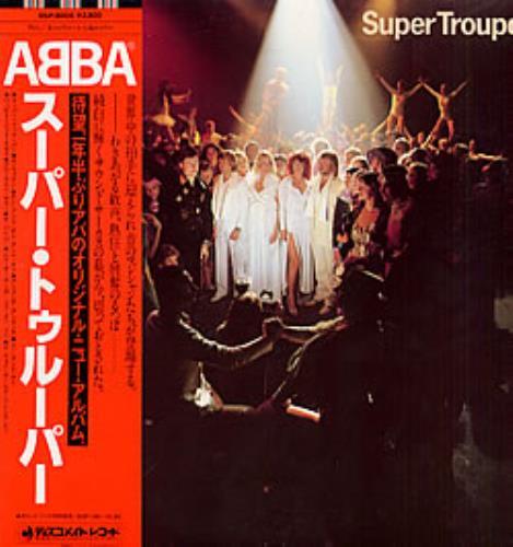 ABBA - Super Trouper (1980 Japan) [FLAC]