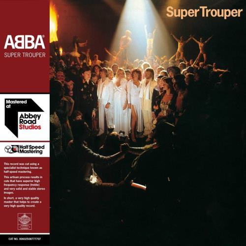 Abba Super Trouper  [Half-Speed Master] - 180gm Vinyl - Sealed 2-LP vinyl record set (Double Album) UK ABB2LSU755544