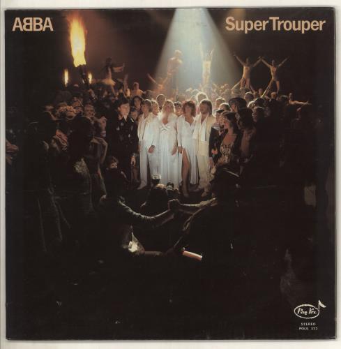 Abba Super Trouper - Pan-Vox label vinyl LP album (LP record) Greek ABBLPSU736896