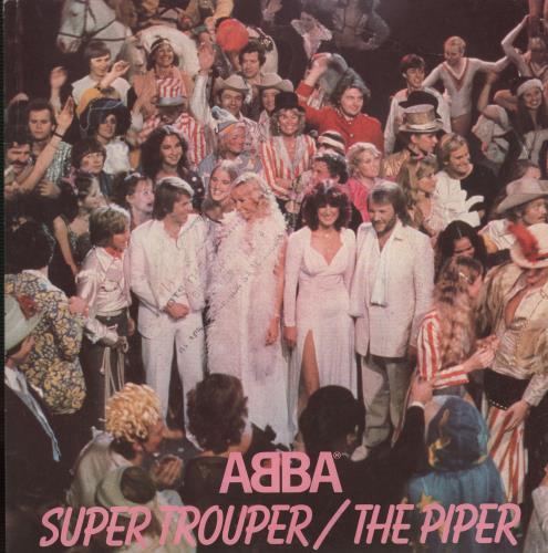 """Abba Super Trouper - P/S - Solid 7"""" vinyl single (7 inch record) UK ABB07SU652979"""