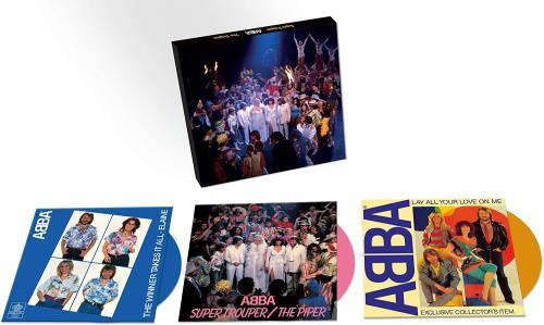 "Abba Super Trouper Singles Boxset - Numbered 7"" box set UK ABB7XSU755543"