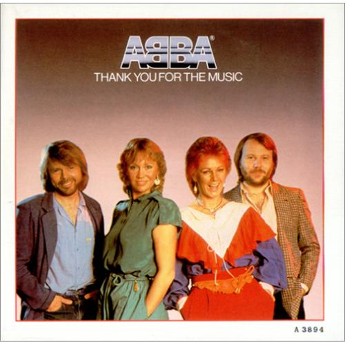 "Abba Thank You For The Music - Poster Sleeve 7"" vinyl single (7 inch record) UK ABB07TH02085"