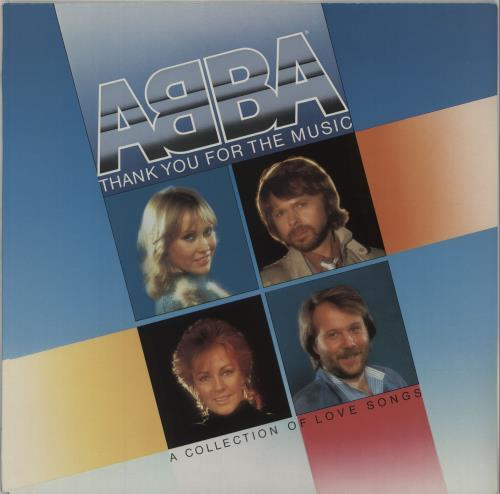 Abba Thank You For The Music: A Collection Of Love Songs vinyl LP album (LP record) UK ABBLPTH220760