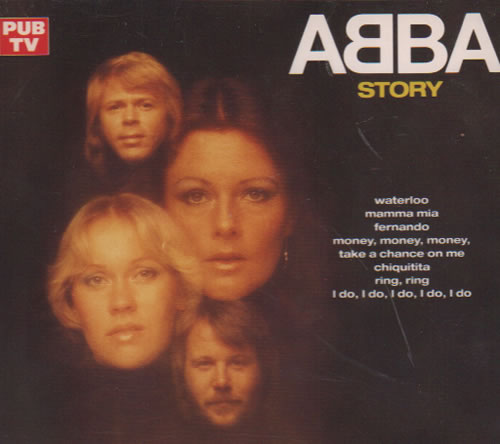 Abba The Abba Story French 2 Cd Album Set Double Cd 4592