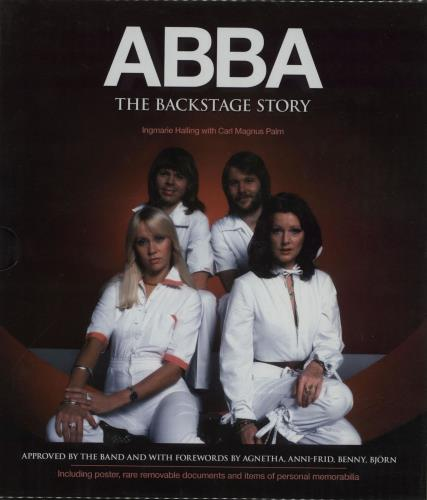 Abba The Backstage Story book UK ABBBKTH651988