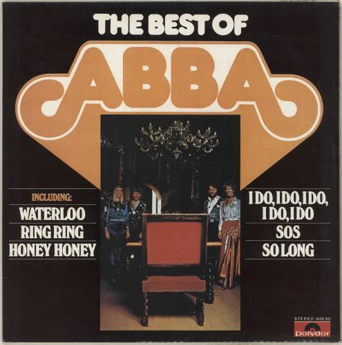 Abba The Best Of Abba vinyl LP album (LP record) Korean ABBLPTH139971