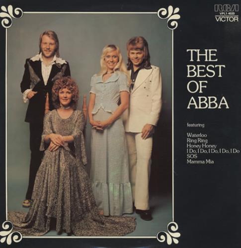 Abba The Best Of Abba vinyl LP album (LP record) Australian ABBLPTH35997