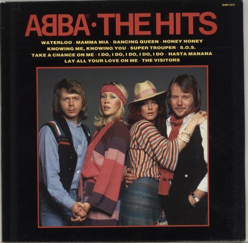 Abba The Hits 1,2 & 3 3-LP vinyl record set (Triple Album) UK ABB3LTH697485