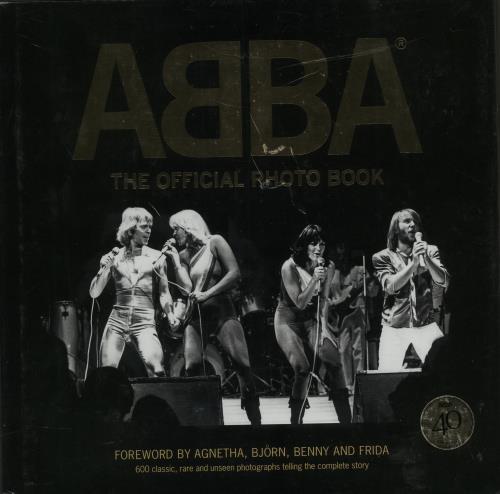 Abba The Official Photo Book book UK ABBBKTH601696