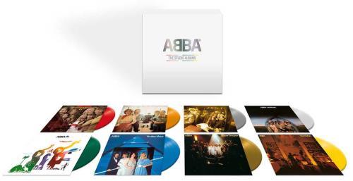 Abba The Studio Albums - Coloured Vinyl Collection Vinyl Box Set UK ABBVXTH749480
