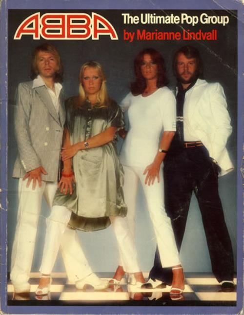Abba The Ultimate Pop Group book Canadian ABBBKTH555882