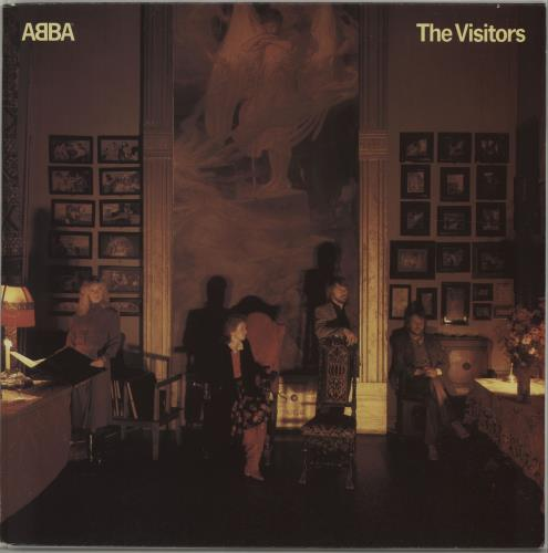 Abba The Visitors vinyl LP album (LP record) UK ABBLPTH238219