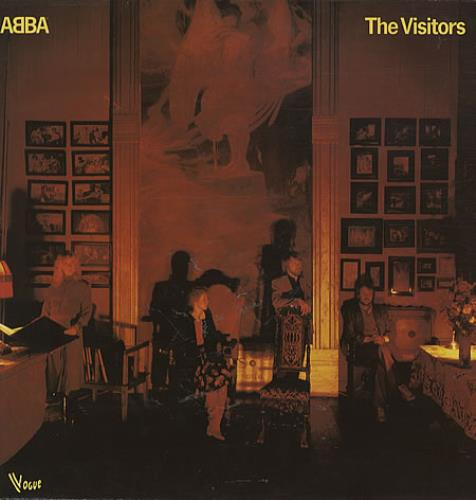 Abba The Visitors vinyl LP album (LP record) French ABBLPTH330389