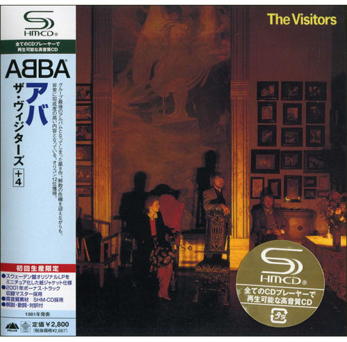 Abba The Visitors Japanese Shm Cd 509180