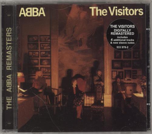 Abba The Visitors CD album (CDLP) UK ABBCDTH85624