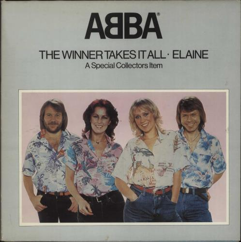 "Abba The Winner Takes It All - Pop Up Sleeve 12"" vinyl single (12 inch record / Maxi-single) UK ABB12TH06601"