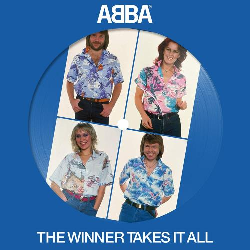 "Abba The Winner Takes It All - Sealed 7"" vinyl picture disc 7 inch picture disc single UK ABB7PTH755545"