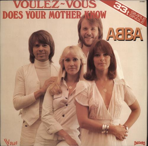 "Abba Voulez Vous - Green Vinyl 12"" vinyl single (12 inch record / Maxi-single) French ABB12VO228933"