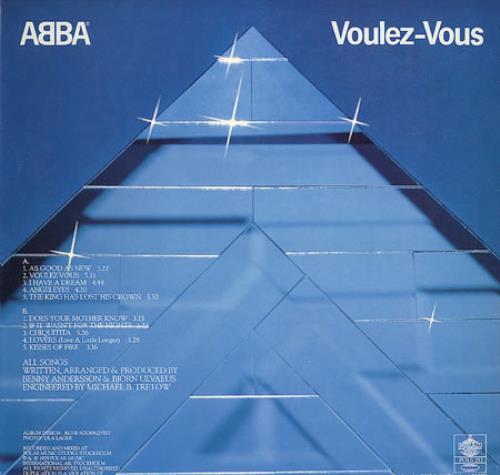 Abba Voulez Vous vinyl LP album (LP record) Japanese ABBLPVO231015