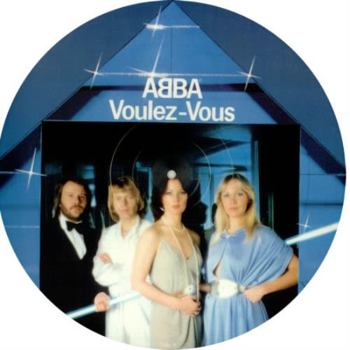 Abba Voulez Vous picture disc LP (vinyl picture disc album) UK ABBPDVO03669