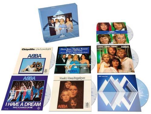 "Abba Voulez-Vous - 7"" Singles Boxset - Sealed 7"" box set UK ABB7XVO723487"