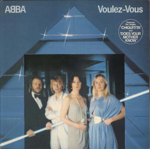 Abba Voulez-Vous vinyl LP album (LP record) UK ABBLPVO02183