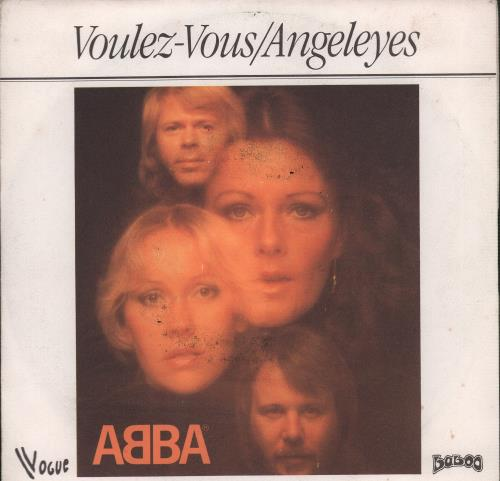 """Abba Voulez-Vous 7"""" vinyl single (7 inch record) French ABB07VO78950"""