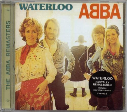 Abba Waterloo - The ABBA Remasters CD album (CDLP) UK ABBCDWA85620