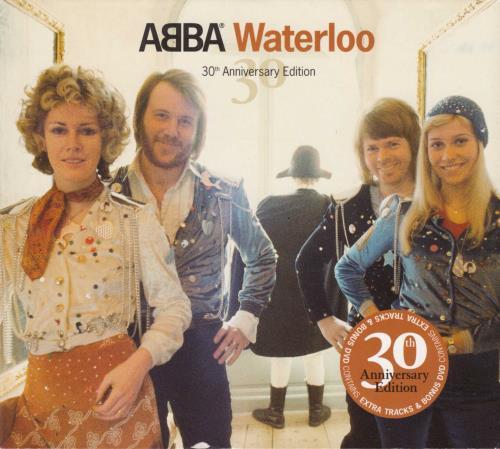 Abba Waterloo 30th Anniversary Edition Uk 2 Disc Cd Dvd