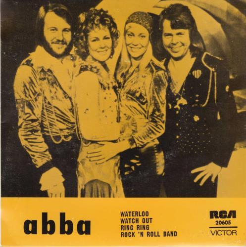 "Abba Waterloo EP 7"" vinyl single (7 inch record) Australian ABB07WA569879"