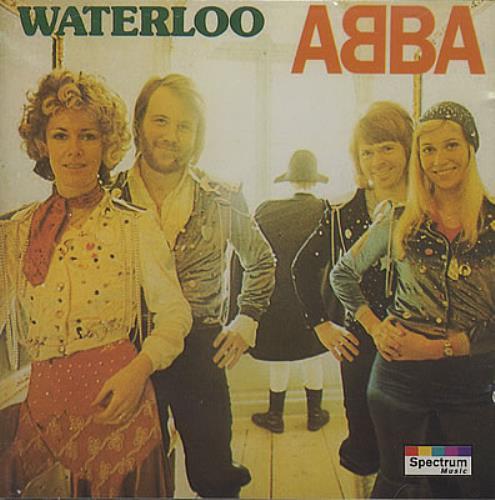 Abba Waterloo CD album (CDLP) German ABBCDWA19904