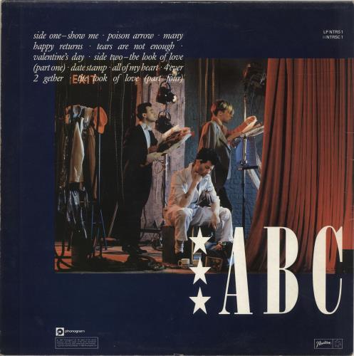 ABC The Lexicon Of Love vinyl LP album (LP record) UK ABCLPTH316595