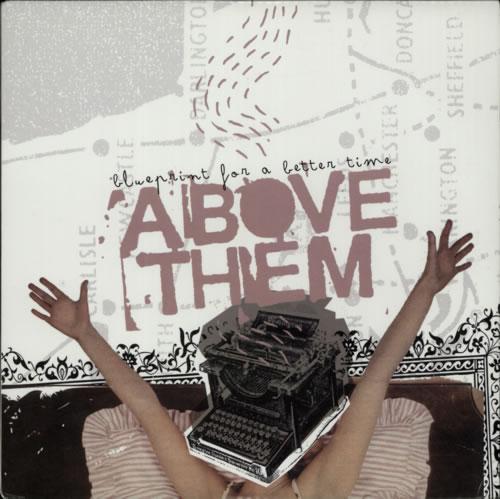 Above Them Blueprint For A Better Time - White vinyl vinyl LP album (LP record) UK FYWLPBL606828