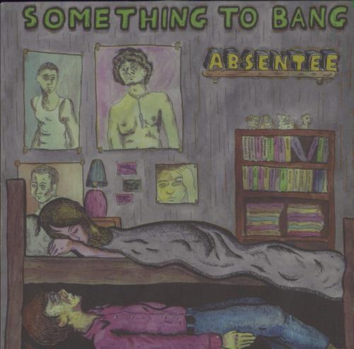 """Absentee Something To Bang 7"""" vinyl single (7 inch record) UK AE-07SO770431"""