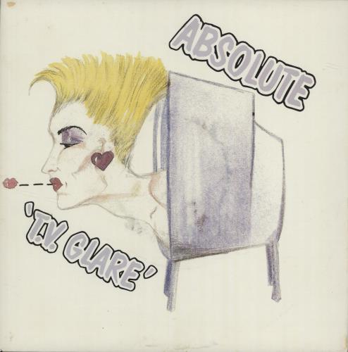"Absolute T.V. Glare 7"" vinyl single (7 inch record) Dutch ASU07TV222722"