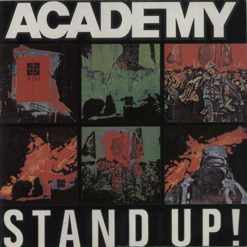 "Academy Stand Up! 7"" vinyl single (7 inch record) UK AB-07ST682076"