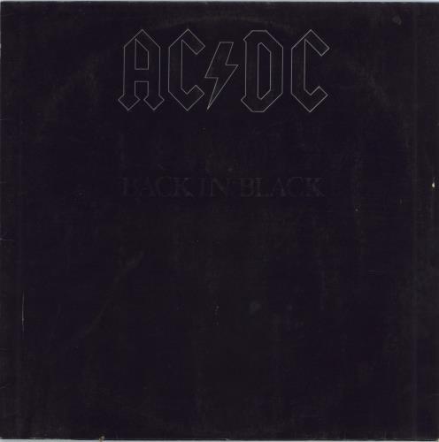 AC/DC Back In Black - Barcoded + Inner - VG vinyl LP album (LP record) German ACDLPBA771164