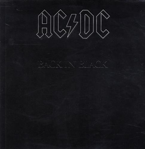 AC/DC Back In Black - Barcoded vinyl LP album (LP record) German ACDLPBA366126