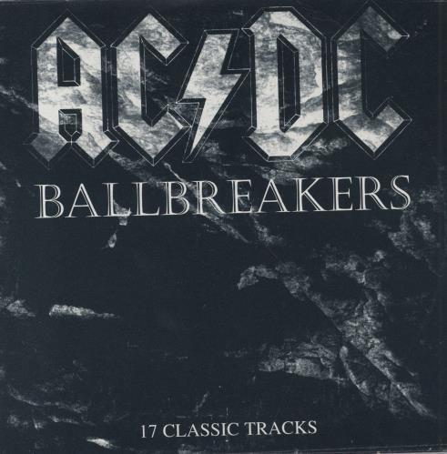 Ac Dc Ballbreakers Uk Promo Cd Album Cdlp 53677