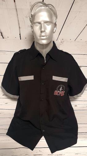 AC/DC Black Ice Tour - Shirt Australian Tour 2010 - Large t-shirt Australian ACDTSBL752158
