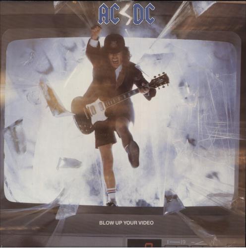 AC/DC Blow Up Your Video - 2nd vinyl LP album (LP record) UK ACDLPBL680909