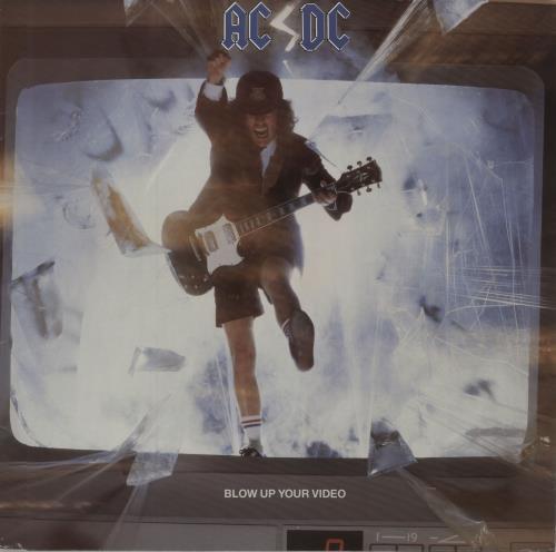AC/DC Blow Up Your Video - EX vinyl LP album (LP record) UK ACDLPBL675202