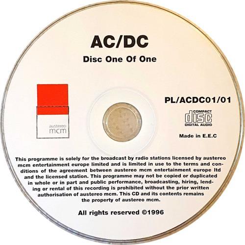 AC/DC Coca-Cola Planet Live CD album (CDLP) Austrian ACDCDCO259330
